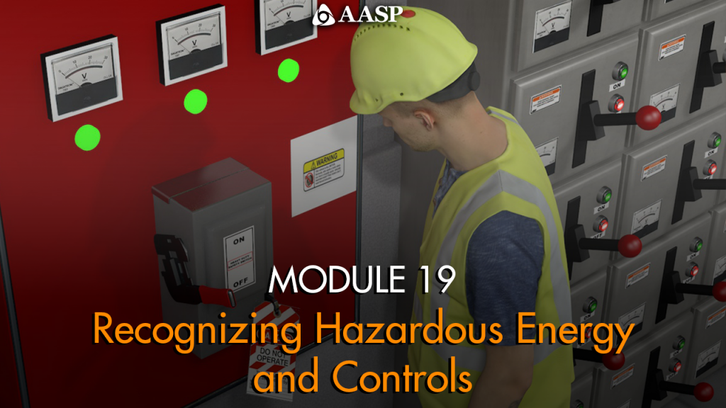 Recognizing Hazardous Energy and Controls