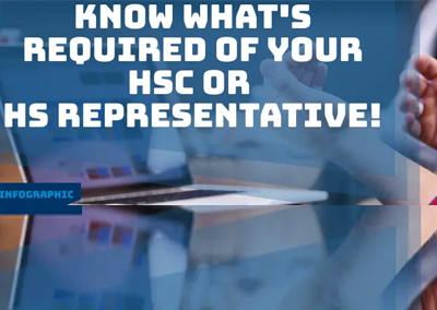 Infographic: Know what's required of your HSC or HS Representatives!