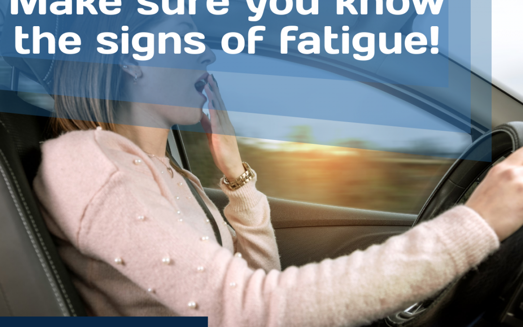 Infographic: Make sure you know the signs of fatigue