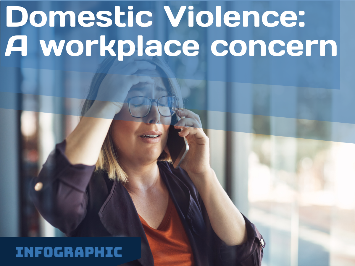 Infographic: Domestic Violence – A workplace concern