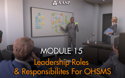 Module 15: Leadership Roles and Responsibilities for OHSMS